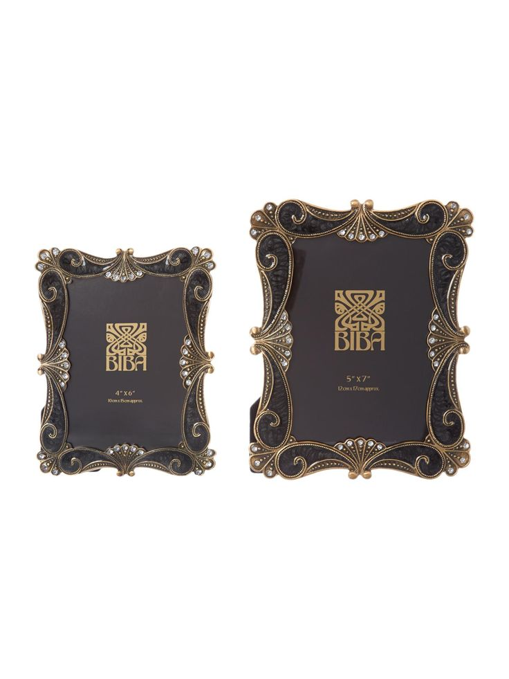 Buy your Biba Black Baroque Style Photo Frames online now at House of Fraser. Why not Buy and Collect in-store?