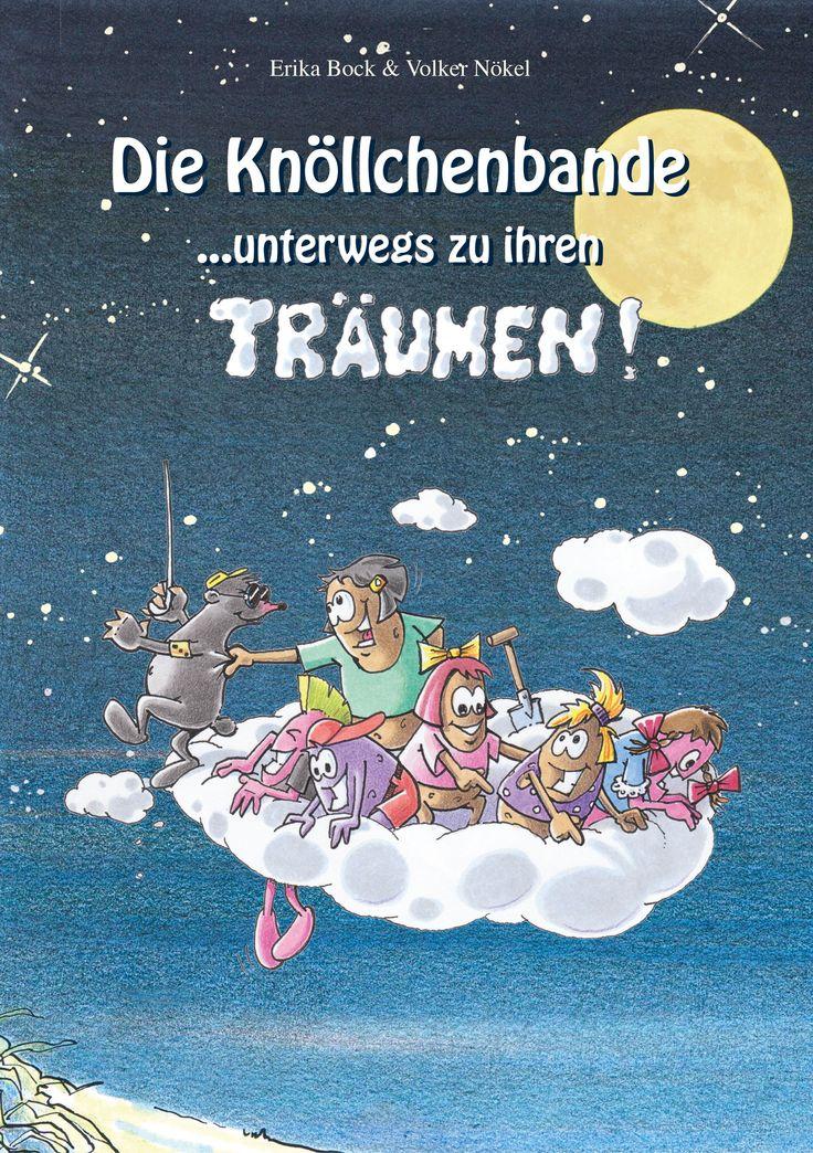 Buch-Geschenktipp zu Weihnachten für Großeltern, deren Enkel gerade Lesen gelernt haben. http://www.grosseltern.de/tipps-und-tricks/medientipps/kinderbuchtipp-die-knoellchenbande-unterwegs-zu-ihren-traeumen/