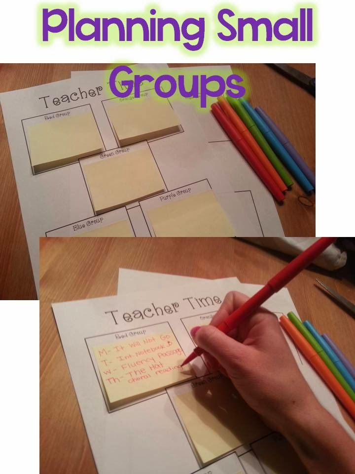 Small Group Organization