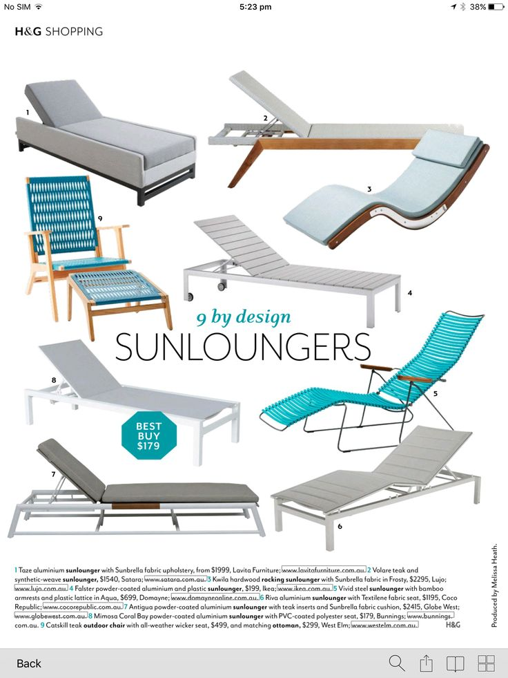 Satara's Volare Sun Lounge at number 2 in this feature by @australianhouseandgarden