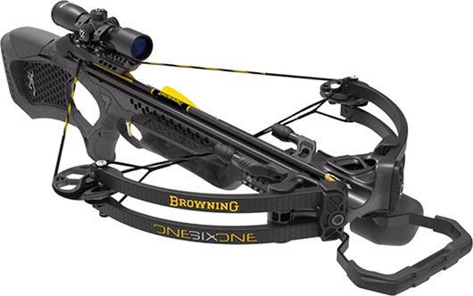 BROWNING CROSSBOWS 17 Browning Zero 7 Crossbow Pkg w/Scope, Arrows & RCD, EA