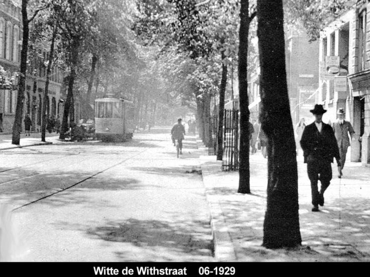Witte de Withstraat 1929