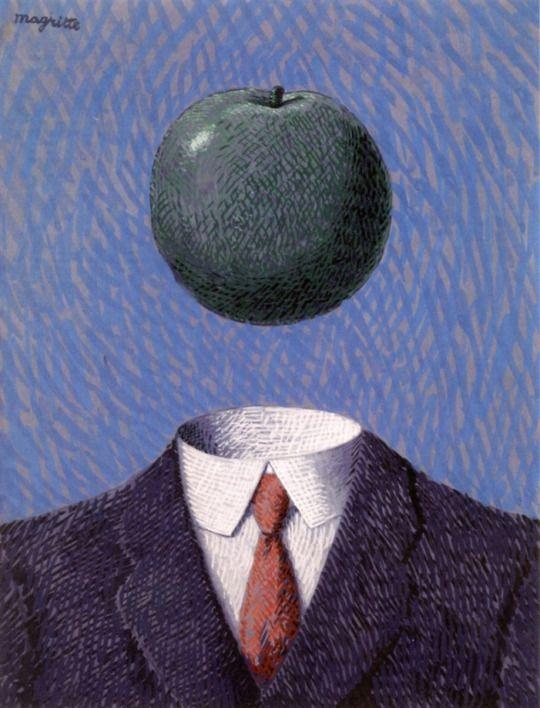 Rene Magritte - The Fixed Idea, 1927