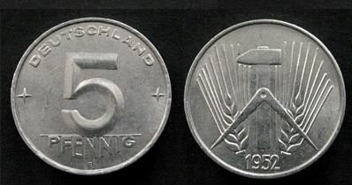 5Pfennig1952E - Mark (DDR) – Wikipedia