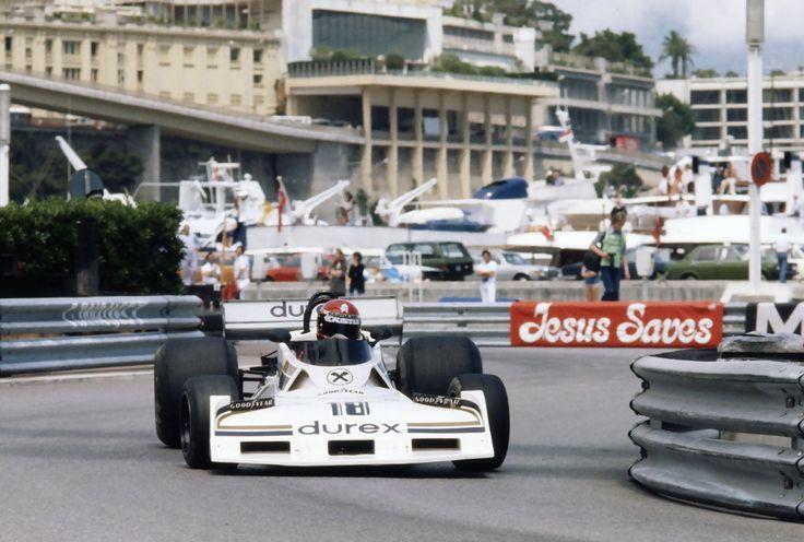 Hans Binder, Surtees-Ford TS19, 1977 Monaco GP, Monte Carlo
