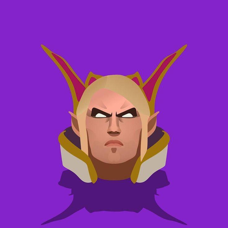 Kael the Invoker. #invoker #dota2 #minimalistic #flatdesign #coreldraw #logo #game #hero #moba #onlinegames #design #graphicdesign #vector #vectorart #art #digitalart #indonesia #dota
