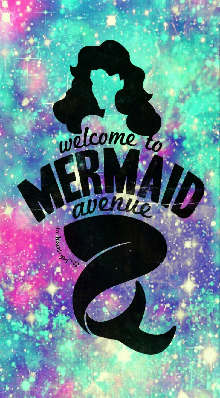 Mermaid iphone wallpaper tumblr - Mermaid Ave Galaxy Wallpaper I Created For Cocoppa