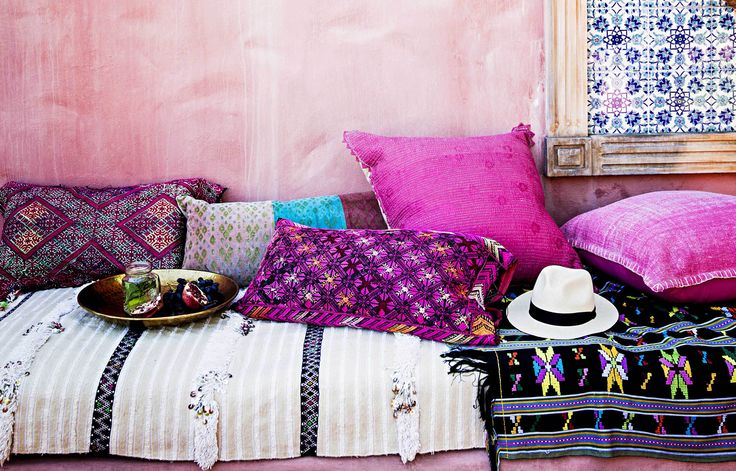 Home Beautiful's style tips for decorating with pink