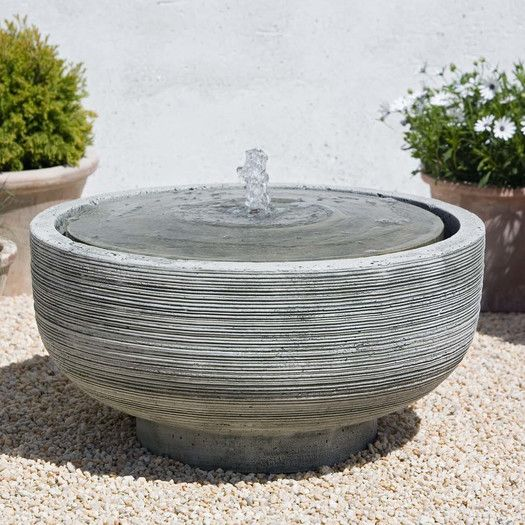 Campania International, Inc Girona Cast Stone Fountain | AllModern