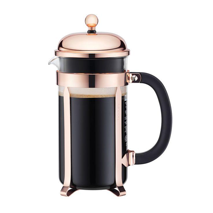 CHAMBORD Kaffepress 8 koppar, Koppar, Bodum