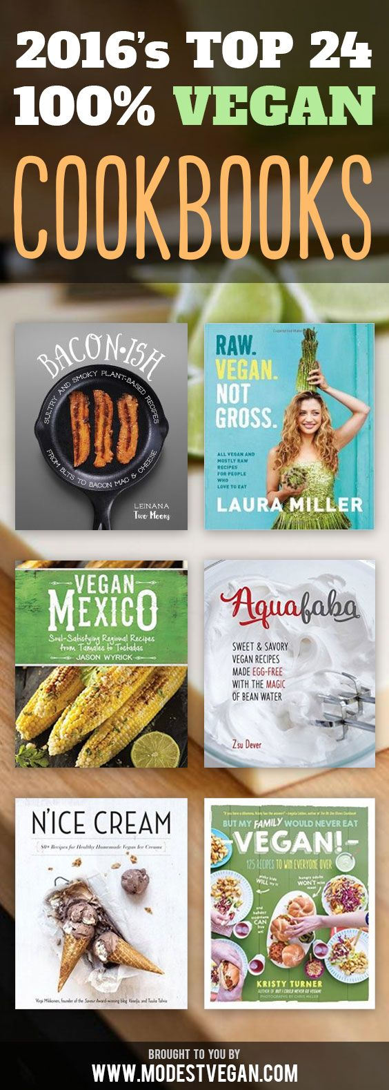 A giant list of the best vegan cookbooks available this year.