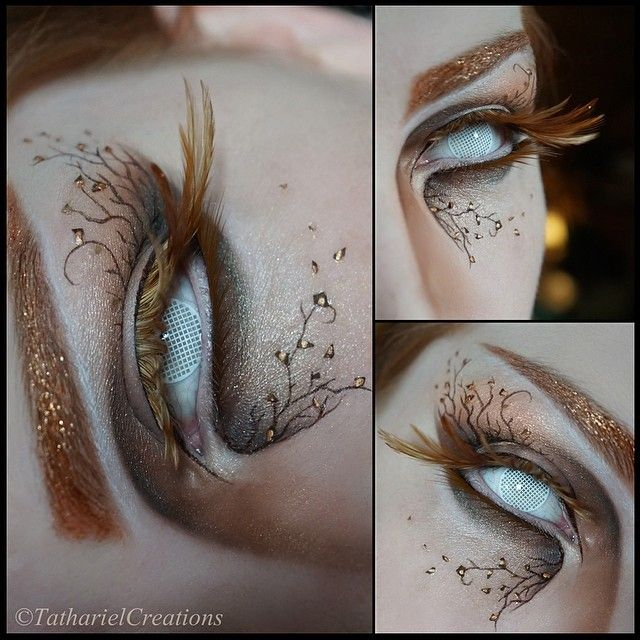 I was drawing gnarly ents whilst watching a documentary about birds of prey - Then this just happened.  I am feeling this look! ✨ Apart from the fact that I'll be partially blind, I would totally wear this makeup out and about!  I used @limecrimemakeup's Eyeliner (Quill), Glitter Helper and Zodiac Glitter (Leo) for the sparkles ✨#limecrime