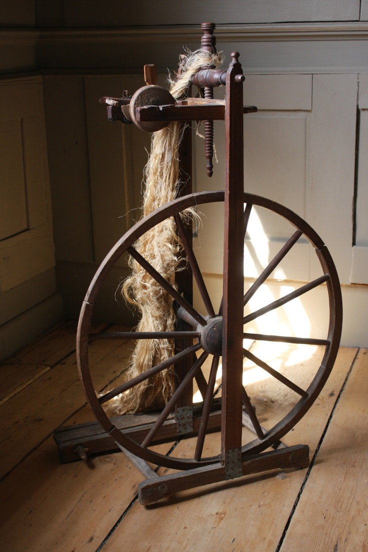 RARE 1760 Museum Quality Upright 18th C Flax Spinning Wheel Maine Provenance   eBay   sold   344.32
