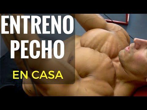RUTINA DE PECHO Y ESPALDA EN CASA SIN MATERIAL - YouTube