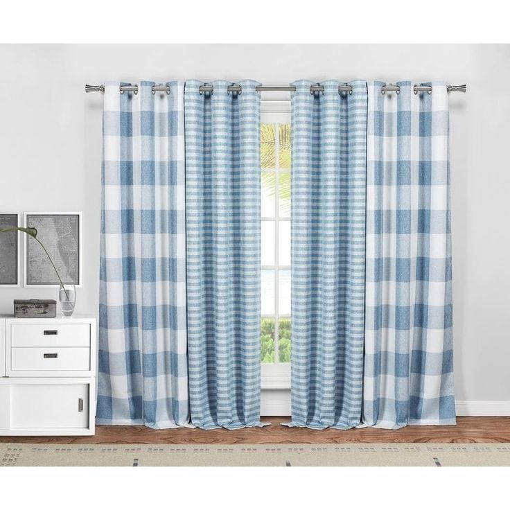 Blackout 365 Colin 4 Piece Curtain Panel Pair