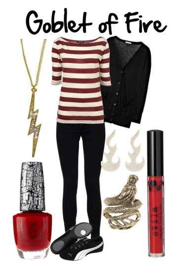 Harry Potter outfit, I need this necklace