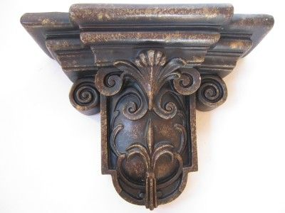 Tuscan Wall Decor Old World Antique Bronze Brown