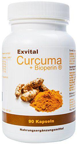 Exvital Curcuma + Bioperin ® - Curcumin hochdosiert, 1500 mg, 90 vegetarische Kapseln, 1er Pack (1 x 72 g) Exvital http://www.amazon.de/dp/B0112BB158/ref=cm_sw_r_pi_dp_MfzXwb00MVSHG