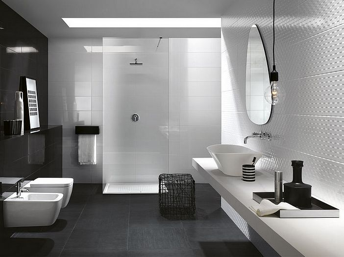 White bodied wall tiles pressed 250x760 format. Soft edges add a delicate touch and the non standard size produces a delicious visual delight. Often used with timber look porcelain tiles or stone floors. Its white body enables easy, rapid installation for bathroom renovators. Available only in white and is made in Spain. PRESTIGE range offers a spectalcular range of decorative tiles matching in size and thickness.