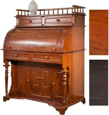 Vintage Sekret r MARQUIS handgefertigt aus Mahagoni Holz klassischer Kolonialstil massiver Sekret r Tisch B x T x H cm Jetzt bestellen unter