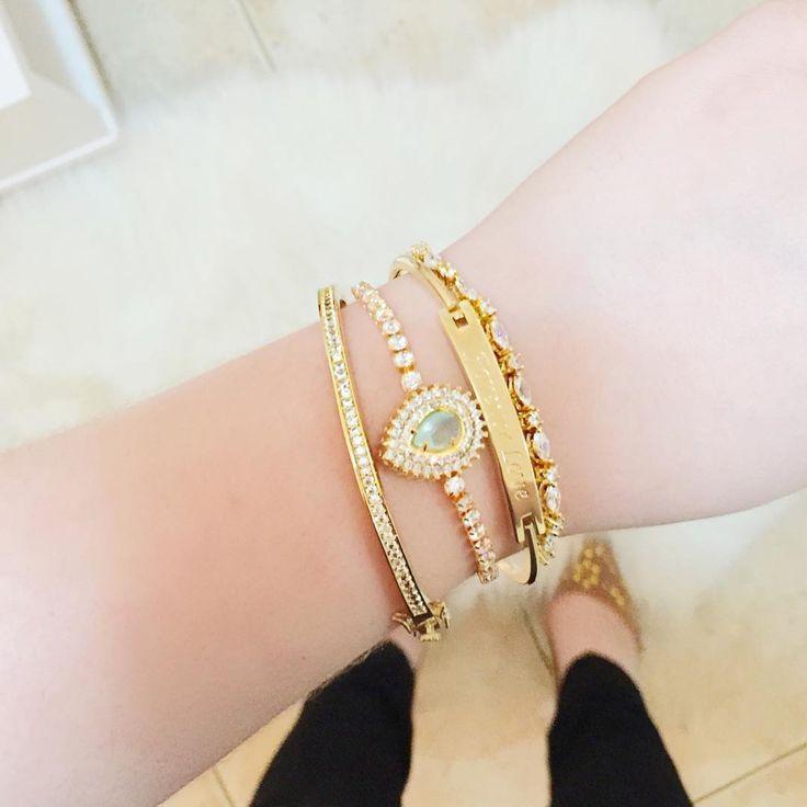 Mix de pulseiras - @girliejoias