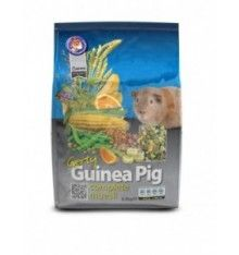 Gerty Guinea Pig Original ofrece desde siempre su excepcional receta formulada atentamente para darle a su cobaya o conejillo de Indias una alimentación cotidiana completa desde el punto de vista nutricional.