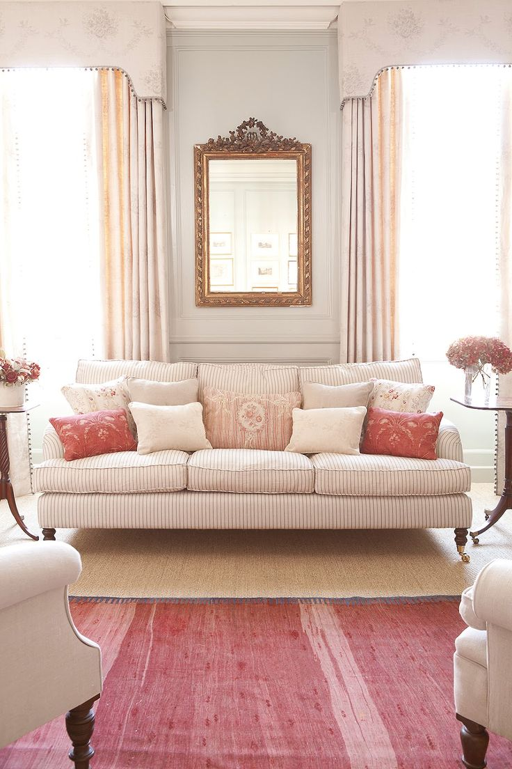 Pink and gold . .. . Hydrangea Hill Cottage: Kate Forman's English Country Charm
