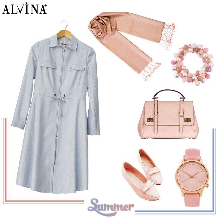 Günün Kombini: Cuma Şıklığı! Trench; https://goo.gl/3cv0Uf Çanta; https://goo.gl/nyLikp #alvina #alvinamoda #alvinafashion #alvinaforever #hijab #hijabstyle #hijabfashion #tesettür #fashion #stylish #newcollection #kombin #summer #cumaşıklığı