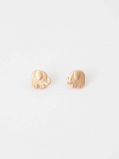 Altar'd State Tiny Elephant Earrings