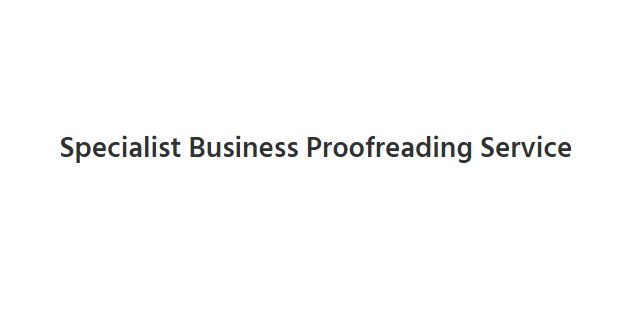 Business Proofreading   Business Content Editing Services