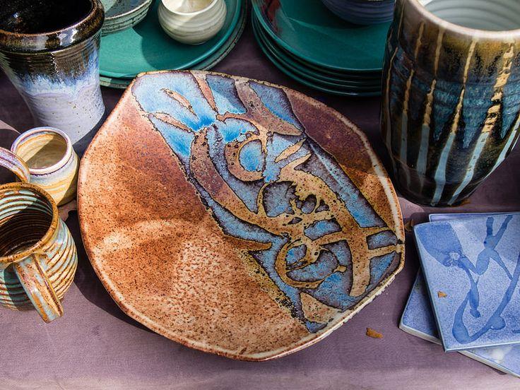 Big beautiful platter, by Jon King