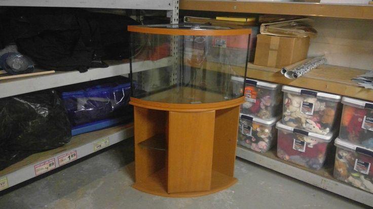Corner Aquarium Tank