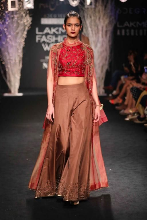 Palazzo pants with capes look great for Indian Weddings #Frugal2Fab