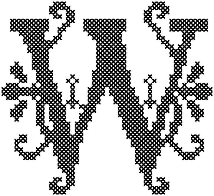 "Letter ""W"" Cross Stitch/Cross Stitch Monogram/Cross Stitch Initial/ Cross Stitch Pattern/ Counted Cross Stitch/Digital Download/Modern W by oneofakindbabydesign on Etsy https://www.etsy.com/listing/174081577/letter-w-cross-stitchcross-stitch"