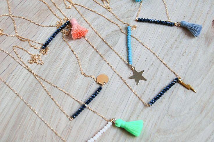 "Sautoir ""Pompon"" #chouettefille #bijoux #jewelry"