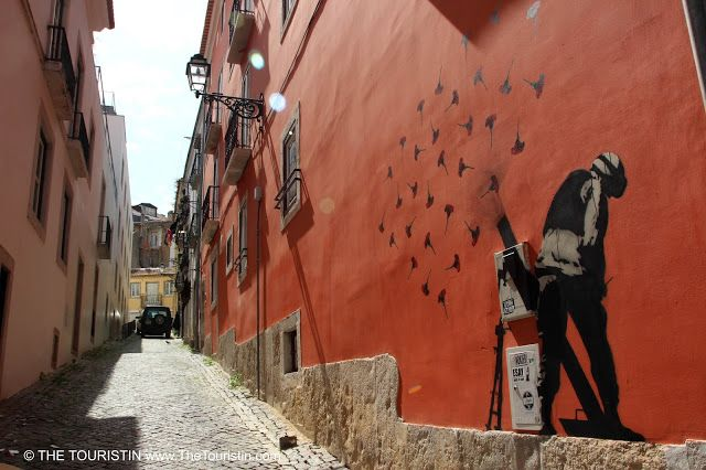 Travel Portugal. Street Art in Seven Areas of Lisbon