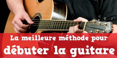 Débuter la guitare gratuitement avec la meilleure méthode du monde ! c'est par ici