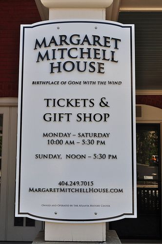 Atlanta, Georgia and the Margaret Mitchell House