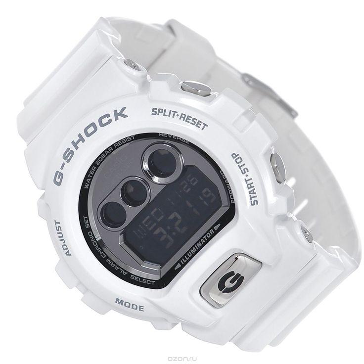 Часы мужские наручные Casio G-Shock, цвет: белый. GD-X6900FB-7E