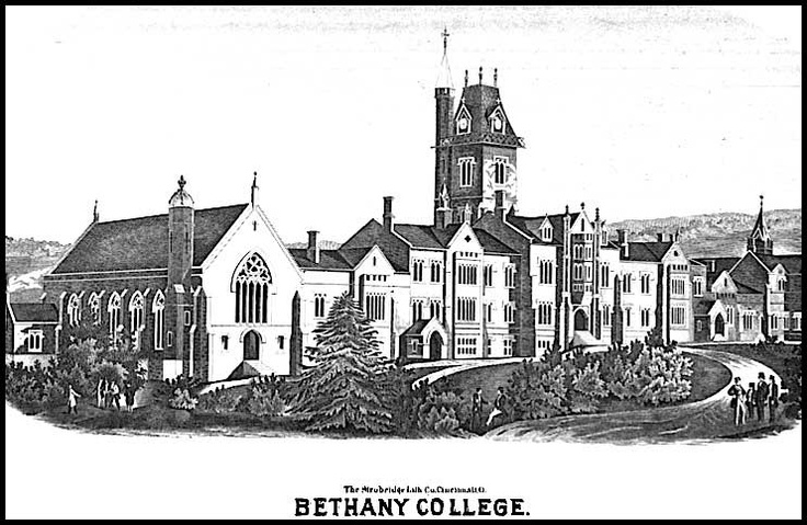Historic Bethany College located in Bethany, West Virginia