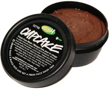 Lush cupcake fresh face mask love love love! Helps control oil and helps prevent breakouts! Out and it's $7!!