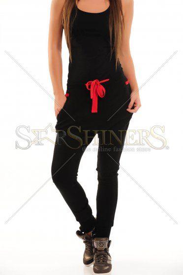 Pantaloni PrettyGirl Daily Use Black
