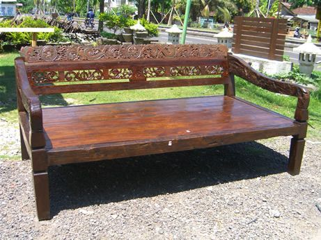 daybed frame from bali love the wood balinese decor pinterest antiques the ojays and love