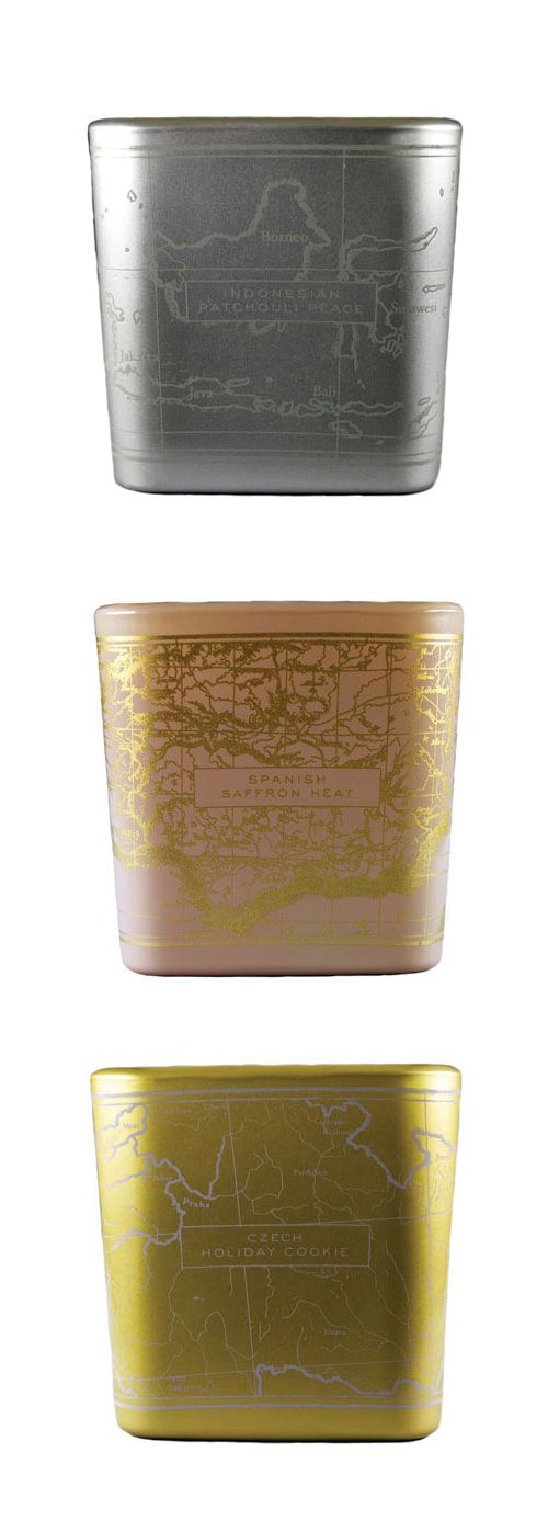 THE GLOBE-TROTTER - Be the Light's Home Fragrances.