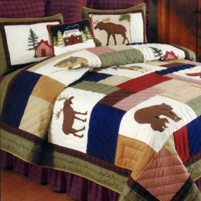 Love the quilt idea......needs different colors