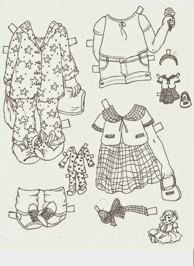 721 best Arielle Gabriel Paper Dolls Black And White Free PD
