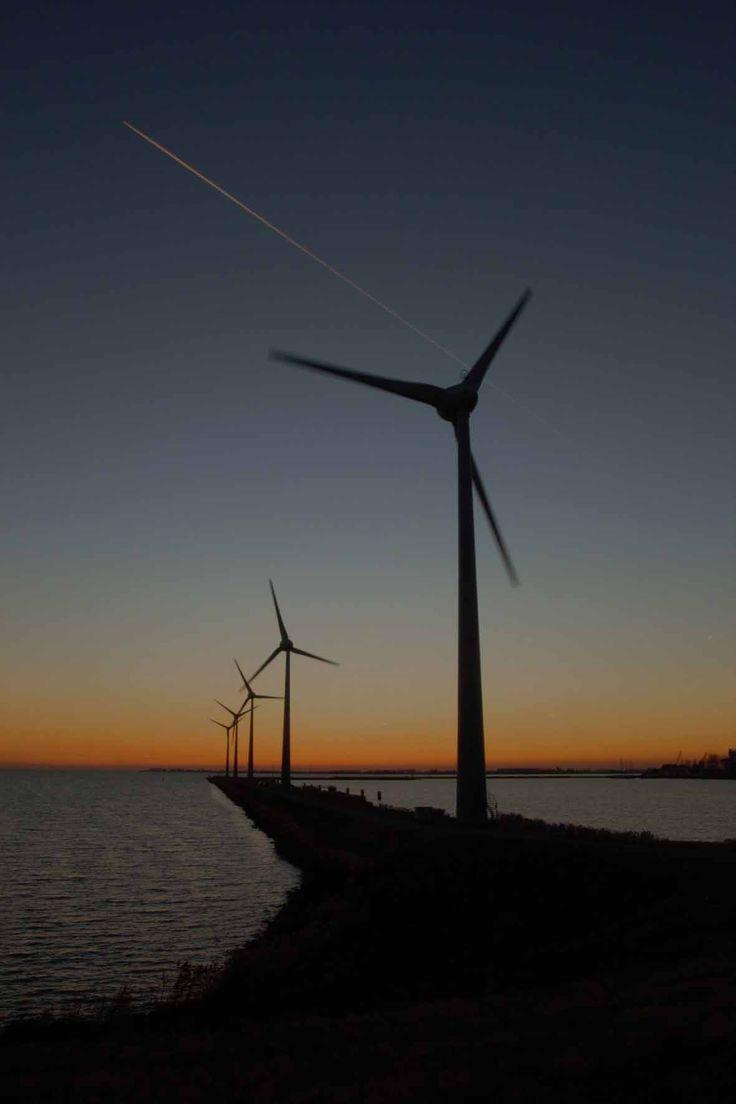 Windmills Enkhuizen Holland