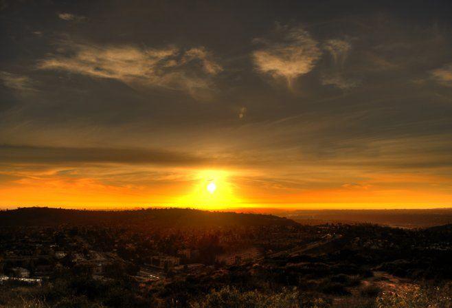 Gorgeous Cowles Mountain Sunset