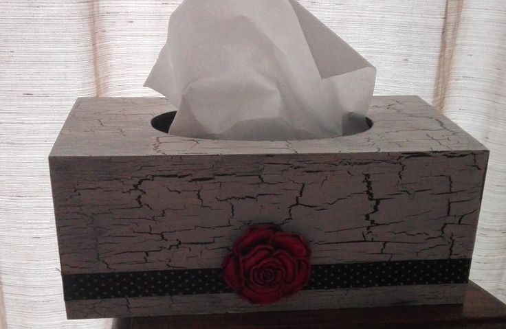 Tissue Box Covers Size—260x135x110mm These come in various designs: Front Open Top Open