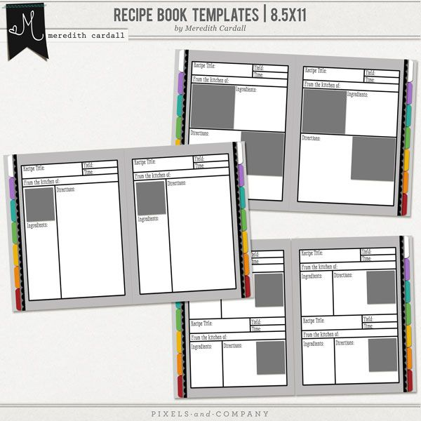 24 best images about RECIPIE TEMPLATES on Pinterest Family - free recipe templates